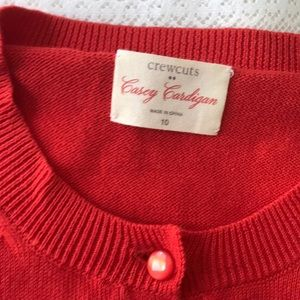 Crewcuts Other - New! CrewCuts Casey Cardigan 💫 Red 🌟 Classic
